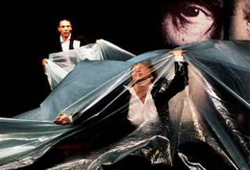 Iron curtain's shadow hangs over Belarus theatre troupe