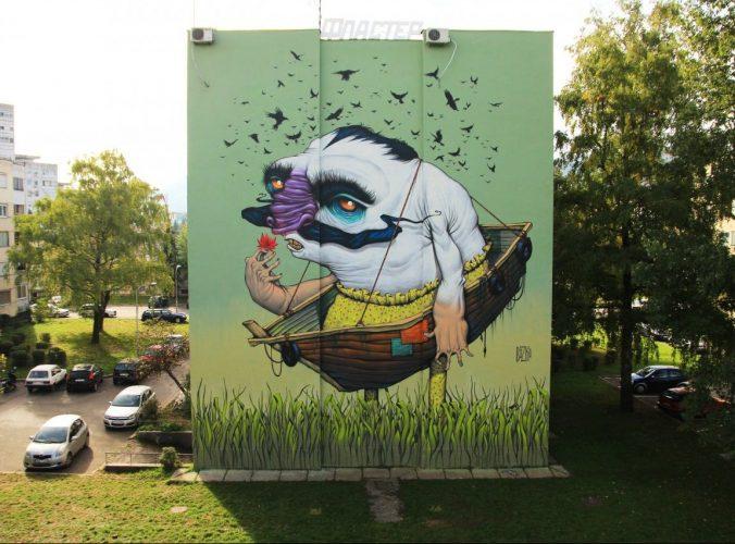 Mural network: Street art in Bosnia and Herzegovina